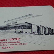 Coleccionismo Calendarios: RARO CALENDARIO COLEGIOS JOYFE AÑO 1968. Lote 198580676