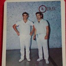 Coleccionismo Calendarios: CALENDARIO DEPORTE VASCO RETEGUI CAMPEÓN DE ESPAÑA - KAIKU AÑO 1970. Lote 198580931
