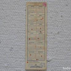 Coleccionismo Calendarios: CALENDARIO 1950 PUBLICIDAD ALMACENES CAPITOL S.A.. Lote 199201127