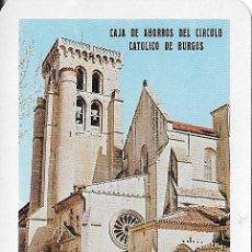 Coleccionismo Calendarios: CALENDARIO FOURNIER 1967 CAJA DE AHORROS DEL CIRCULO CATOLICO DE BURGOS. Lote 101306007