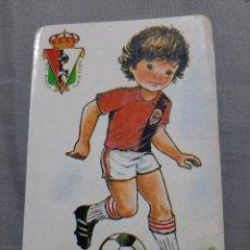 Coleccionismo Calendarios: CALENDARIO DE BOLSILLO FUTBOL 1989 REAL BURGOS CF. Lote 199206872