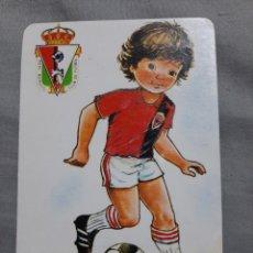 Coleccionismo Calendarios: CALENDARIO DE BOLSILLO FUTBOL 1987 REAL BURGOS CF. Lote 199206925