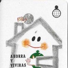 Coleccionismo Calendarios: CALENDARIO FOURNIER 1967 CAJA DE AHORROS Y MONTE DE PIEDAD DE VALENCIA. Lote 99653275