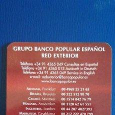 Collezionismo Calendari: 1 CALENDARIO DE ** BANCO POPULAR ** .AÑO 2002. Lote 199269533
