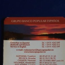 Collezionismo Calendari: 1 CALENDARIO DE ** BANCO POPULAR ** .AÑO 2004. Lote 199269630