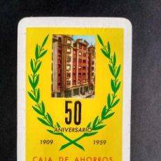 Collezionismo Calendari: FOURNIER - CAJA DE AHORROS DEL CIRCULO CATOLICO BURGOS 1959. Lote 199281592