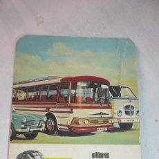 Collezionismo Calendari: CALENDARIO BOLSILLO AÑO 1967 - FRENOS IRUÑA. Lote 199360221