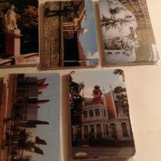 Coleccionismo Calendarios: 5 SERIES COMPLETAS DE CALENDARIOS DE BOLSILLO DE VITORIA. Lote 199424116