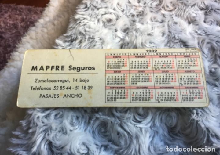 Coleccionismo Calendarios: Antiguo calendario seguros mapfre muy raro y dificil - Foto 2 - 200315252