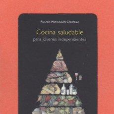 Collezionismo Calendari: CALENDARIO 2013 - KRK EDICIONES - COCINA SALUDABLE PARA JOVENES INDEPENDIENTES. Lote 201522581