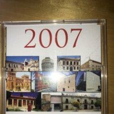 Coleccionismo Calendarios: CALENDARIO MUSEOS DE CASTILLA Y LEÓN - 2007. Lote 201601602