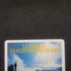 Coleccionismo Calendarios: CALENDARIO DE BOLSILLO FOURNIER BANCO BILBAO ZARAGOZA RARO AÑO 1988. Lote 236652915