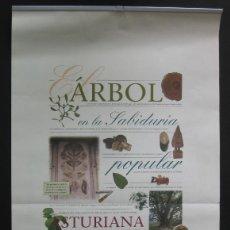 Coleccionismo Calendarios: EL ÁRBOL EN LA SABIDURÍA POPULAR ASTURIANA – CAJA DE ASTURIAS 1998. Lote 202801137
