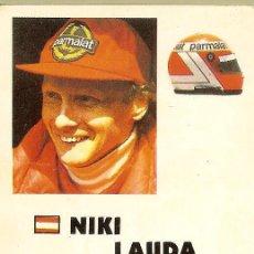 Collezionismo Calendari: CALENDARIO DE BOLSILLO DE PORTUGAL - 1985 1986 - FORMULA 1 - NIKI LAUDA. Lote 202849746