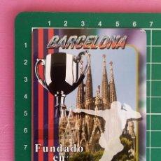 Collezionismo Calendari: AÑO 2016 - CALENDARIO DE BOLSILLO - SERIE Y SIN PUBLICIDAD - FUTBOL -F.C. BARCELONA. Lote 203114550
