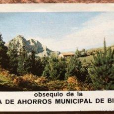 Coleccionismo Calendarios: CAJA DE AHORROS MUNICIPAL DE BILBAO. CALENDARIO HERACLIO FOURNIER DE 1973.. Lote 203837305