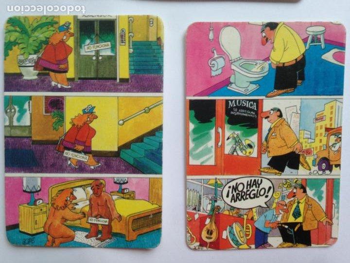LOTE 2 CALENDARIOS CHISTE 1993 (Coleccionismo - Calendarios)