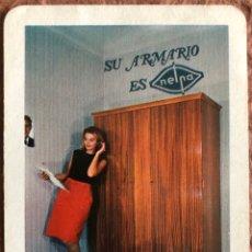 Coleccionismo Calendarios: ARMARIOS NELPA. CALENDARIO HERACLIO FOURNIER DE 1966.. Lote 204098020