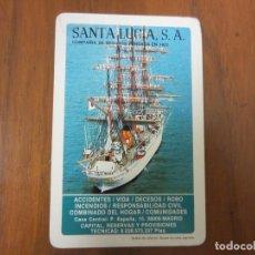 Coleccionismo Calendarios: CALENDARIO NO FOURNIER-SANTA LUCIA SEGUROS-DEL 1985 VER FOTOS. Lote 204116028