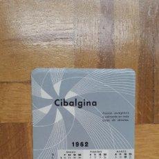 Coleccionismo Calendarios: CALENDARIO PUBLICITARIO CIBALGINA AÑO 1961 VER FOTO ADICIONAL. Lote 204402998