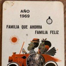 Coleccionismo Calendarios: CAJA DE AHORROS PROVINCIAL DE MÁLAGA. CALENDARIO HERACLIO FOURNIER DE 1969.. Lote 204463663