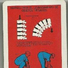 Coleccionismo Calendarios: CALENDARIO FOURNIER. COMISIÓN DE SEGURIDAD EN LA INDUSTRIA SIDERÚRGICA. AÑO 1969. Lote 204528323