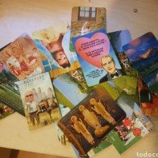 Coleccionismo Calendarios: LOTE DE CALENDARIOS DE BOLSILLO. Lote 204810961