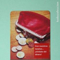 Coleccionismo Calendarios: CALENDARIO FOURNIER. CAJA RURAL DE ASTURIAS. MEDIOS DE PAGO. AÑO 2008.. Lote 205055746