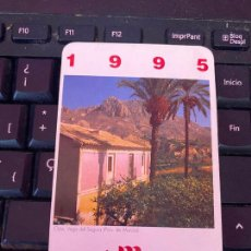 Coleccionismo Calendarios: CALENDARIO CAJAMURCIA. 1995.. Lote 205134992