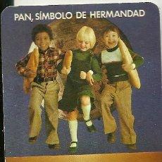 Coleccionismo Calendarios: CALENDARIO PUBLICITARIO. IPAVASA. INDUSTRIAS PANIFICADORAS VALLISOLETANAS. AÑO 1976. Lote 205572272