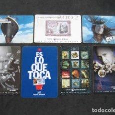 Coleccionismo Calendarios: 7 CALENDARIOS LOTERIAS Y APUESTAS DEL ESTADO. Lote 205588410