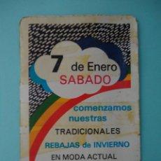 Coleccionismo Calendarios: CALENDARIO FOURNIER DEL AÑO 1978 CORTEDIS , VITORIA. Lote 205649072