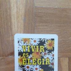 Coleccionismo Calendarios: CALENDARIO FOURNIER VIVIR ES ELEGIR. CENTRO PASTORAL DE VOCACIONES. AÑO 1975. VER FOTO ADICIONAL. Lote 205756926