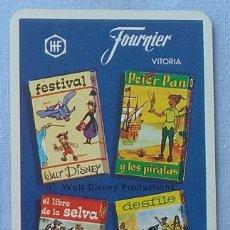 Coleccionismo Calendarios: CALENDARIO FOURNIER 1971 WALT DISNEY Y PRODUCTIONS. Lote 205862333