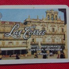 Coleccionismo Calendarios: CALENDARIO FOURNIER LAS TORRES HOTEL RESTAURANTE DE SALAMANCA AÑO 1993. Lote 205862417