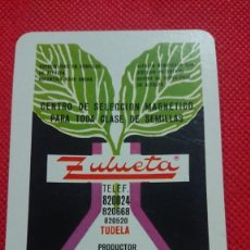 Coleccionismo Calendarios: CALENDARIO FOURNIER ZULUETA PRODUCTOR DE SEMILLAS AÑO 1973. Lote 205863012