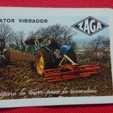 Coleccionismo Calendarios: CALENDARIO FOURNIER ZAGA ZAGAVATOR VIBRADOR AÑO 1971. Lote 205863523