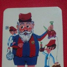 Coleccionismo Calendarios: CALENDARIO DE SERIE FÚTBOL EQUIPO FÚTBOL CLUB BARCELONA AÑO 1973. Lote 205864872