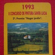 Coleccionismo Calendarios: CALENDARIO FOURNIER SEGUROS SANTA LUCÍA AÑO 1993. Lote 205865436