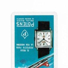 Coleccionismo Calendarios: CALENDARIO FOURNIER- POTENS- RELOJ SUIZO- EL RELOJ PERFECTO PARA LA VIDA MODERNA- 1967. Lote 206276783