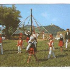 Coleccionismo Calendarios: CALENDARIO DE BOLSILLO DEL AÑO 1983 ESPAÑA TÍPICA - FOLKLORE VASCO - VER FOTO REVERSO. Lote 206276926