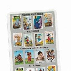 Coleccionismo Calendarios: CALENDARIO FOURNIER- FESTIVAL WALT DISNEY- 1967. Lote 206277110