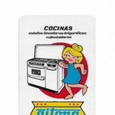 Coleccionismo Calendarios: CALENDARIO FOURNIER- COCINAS- ESTUFAS, LAVADORA, FRIGORÍFICO, CALENTADOR- 1966. Lote 206277325