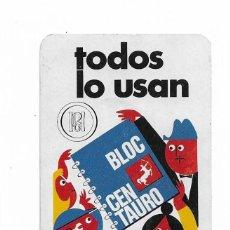 Coleccionismo Calendarios: CALENDARIO FOURNIER- TODO LO USAN - BLOC CENTAURO- 1971. Lote 206277413