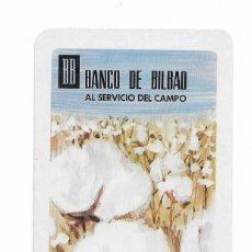 Coleccionismo Calendarios: CALENDARIO FOURNIER- BANCO DE BILBAO- AL SERVICIO DEL CAMPO- 1968. Lote 206277872