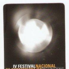 Coleccionismo Calendarios: CALENDARIO DE BOLSILLO AÑO 2000 CINE - IV FESTIVAL CORTOMETRAJES - ALMERÍA - VER FOTO REVERSO. Lote 206278348