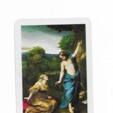 Coleccionismo Calendarios: CALENDARIO FOURNIER - APARICIÓN DE JESUS A LA MAGDALENA- 1971. Lote 206278583
