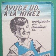 Coleccionismo Calendarios: CALENDARIO DE BOLSILLO - 1965 - LA CIUDAD DE LOS MUCHACHOS - SEVILLA. Lote 206280630