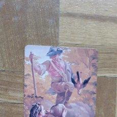 Coleccionismo Calendarios: CALENDARIO PUBLICITARIO BANCOS Y CAJAS. CAJASUR. CAZADOR BEBIENDO EN BOTA AÑO 2006. VER FOTOS. Lote 206302663