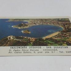Coleccionismo Calendarios: CALENDARIO FOURNIER 1976 VASCONGADA SEGUROS SAN SEBASTIAN. Lote 206302913